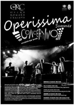 """Operissima"""" 2015 - Summer CONCERTINO, in cinci cartiere craiovene. Asta-seara, in Craiovita Noua!"""