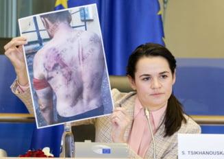 Opozanta belarusa Svetlana Tihanovskaia: ''Este folosita tortura pentru a reduce la tacere intreaga tara''