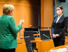 Opozanta belarusa exilata Svetlana Tihanovskaia i-a cerut ajutorul lui Merkel la o intalnire la Berlin
