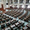 Opozitia a blocat sedinta Senatului in semn de protest fata de declaratia trimisa in SUA de Dragnea si Tariceanu