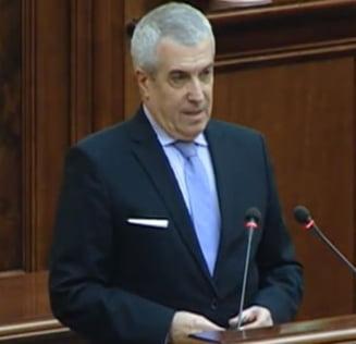 "Opozitia critica numirea lui Tariceanu la Senat - liberalii se declara ""dezamagiti"""