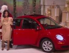 Oprah a daruit tuturor persoanelor din audienta cate un Beetle (Video si Galerie foto)