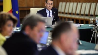 Oprea i-a preluat atributiile lui Ponta, dar nu e suficient - sedinta de Guvern, anulata