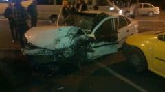 "Opt raniti si sase masini avariate in accident pe bulevardul ""Dacia"""