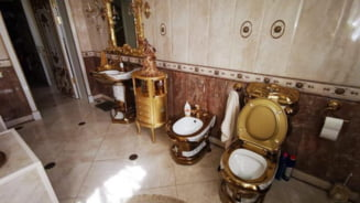 Opulența găsită în palatul unui polițist rus acuzat de corupție. Până și toaleta era suflată cu aur VIDEO/FOTO