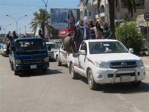 Oras irakian, capturat de rebeli inarmati