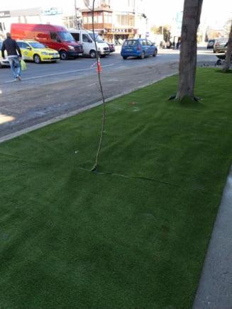 Orasul din Romania care va avea mocheta verde pe trotuare (Foto)