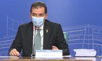 """Orban: """"Obiectivul nostru este sa stavilim cresterea numarului de cazuri de COVID fara afectarea activitatii economice"""""""