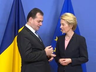 Orban i-a promis Ursulei von der Leyen ca va obtine aderarea la Schengen si ridicarea MCV