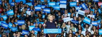 Orice se poate intampla la alegerile din SUA: Avansul lui Clinton in sondaje ramane mic
