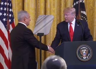 Orientul Mijlociu: Reactii pe scena internationala dupa ce Donald Trump si-a facut cunoscut planul de pace