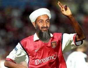 Osama bin Laden a fost ucis: Arsenal a pierdut un fan infocat