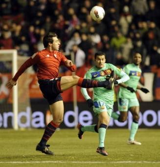 Osasuna a uimit Spania. Barcelona, tot mai departe de titlu