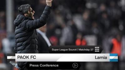 PAOK Salonic castiga in Grecia, dar Razvan Lucescu mai asteapta o runda pentru a sarbatori titlul