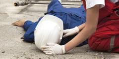 PATRU ACCIDENTE DE MUNCA IN AUGUST, IN JUDEEsUL GIURGIU. UNUL S-A SOLDAT CU DECES