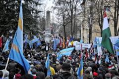 """PCM Covasna vrea armistitiu intre partidele maghiare pana la """"marele mars al secuilor"""""""