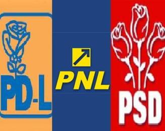 PD-L, PSD, PNL - Concurs de iresponsabilitate politica