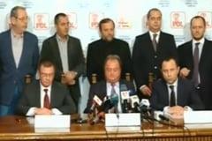 PDL, Forta Civica si PNTCD au infiintat Alianta Romania Dreapta