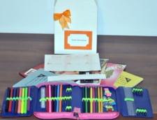 PDL Bucuresti ofera rechizite scolare copiilor saraci