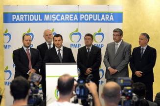 PMP, discutii cu Boc, Scripcaru, Hava si Gheorghe Stefan pentru a se alatura partidului - surse
