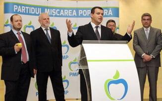 PMP vrea sa coopteze mai multi parlamentari, inclusiv de la Putere - ce planuri mai are formatiunea