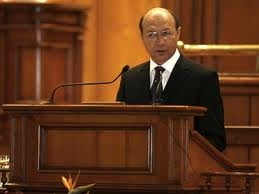 PNL boicoteaza discursul lui Basescu din Parlament