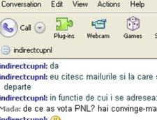 PNL isi face campanie electorala pe Yahoo Messenger