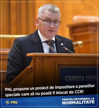 PNL propune impozitarea pensiilor speciale pana la 95%. Clotilde Armand: Exista un consens intre toate partidele, Guvernul sa adopte azi OUG!