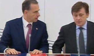 PNL si PSD au batut palma: Geoana presedinte, Iohannis premier