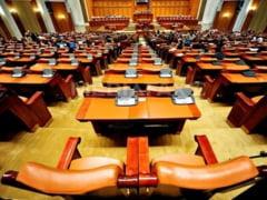 PNL si PSD au parasit din nou lucrarile Camerei Deputatilor