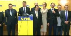 PNL si-a ales conducerea: Cine sunt vicepresedintii lui Iohannis