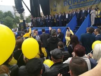 PNL si-a prezentat la Bucuresti candidatii la europarlamentare. Iohannis: S-au cocotat infractorii in varful statului. Va chem la vot!