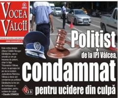 POLITIST de la IPJ Valcea, CONDAMNAT pentru UCIDERE DIN CULPA