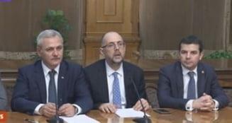 PSD, ALDE si UDMR au semnat protocol de colaborare. Kelemen Hunor: Trebuie sa invat si eu sa pronunt numele premierului propus