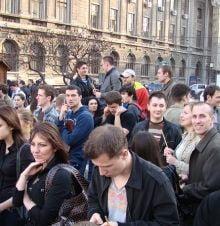 PSD: Protestele de marti, repetitie PD-L pentru ziua alegerilor