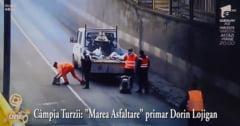 """PSD Campia Turzii face misto de """"marea asfaltare"""" a primarului Lojigan! (VIDEO)"""