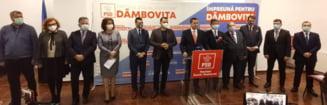 PSD Dambovita, mesaj de unitate in prima zi de campanie electorala pentru alegerile parlamentare