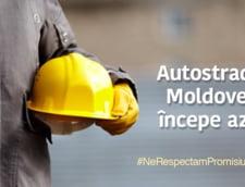 PSD a anuntat ca incepe sa construiasca Autostrada Moldovei folosind o imagine din Rusia