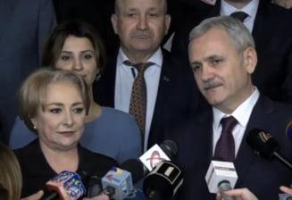 PSD si-a ales noua conducere: Rezultatele previzibile, anuntate intr-o sala aproape goala. Vezi care e echipa lui Dragnea