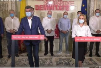 PSD si-a lansat candidatii pentru Primaria Capitalei si cele sase sectoare in prezenta lui Marcel Ciolacu si a lui Paul Stanescu