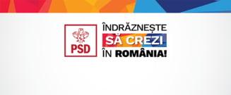 PSD si-a lansat sloganul pentru campania electorala (Video)