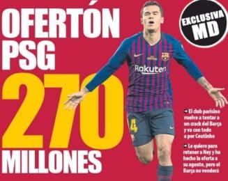 PSG a facut o oferta incredibila pentru un jucator de la FC Barcelona: 270 de milioane de euro!