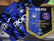PSG merge in semifinalele Champions League, dupa un meci nebun cu Atalanta. Francezii au dat doua goluri in finalul meciului