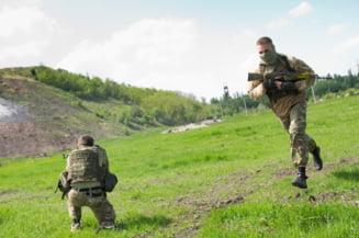 Pacea in Ucraina, un vis: Un militar ucis si noua raniti intr-un atac sangeros