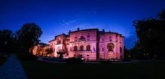 Palatul Cotroceni, iluminat in albastru, cu ocazia Zilei Internationale de Constientizare a Autismului