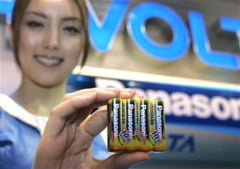 Panasonic deschide o noua fabrica de baterii in China