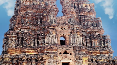 Pandemia a ajutat la regasirea unui templu, in India