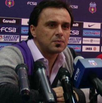 Panduru se vrea antrenor la Steaua