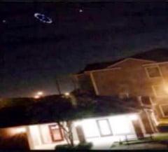 Panica la Houston: OZN pe cerul noptii langa centrul NASA sau experiment secret?
