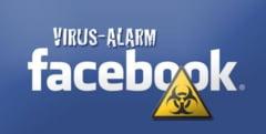 Panica pe Facebook: Un virus care fura parole a infectat 800.000 de utilizatori